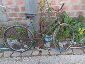 Bicicleta tipo inglesa rod 26 vintage años 70