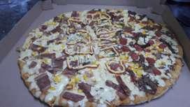 Busco trabajo de pizzero y comidas rapidas