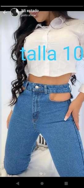 Yeans talla 10