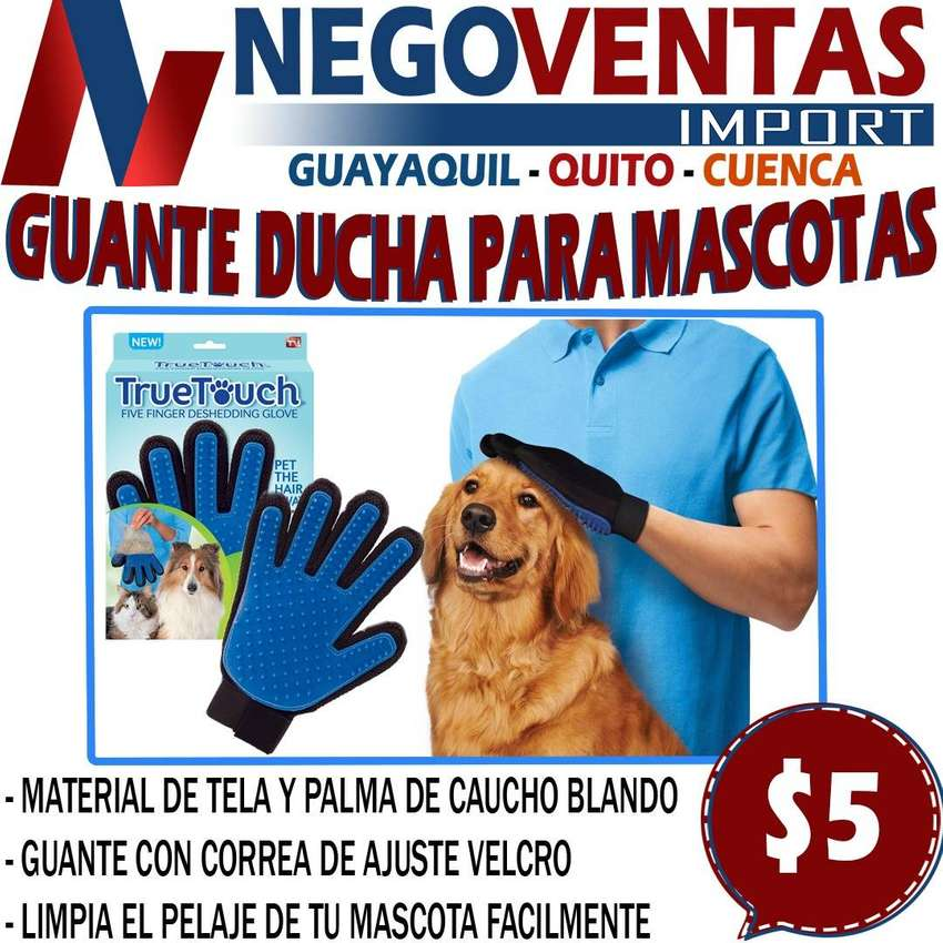 GUANTE QUITA PELUSA DE MASCOTAS EN DESCUENTO EXCLUSIVO DE NEGOVENTAS 0