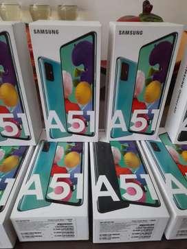 Vendo Samsung A51 Dual Sim nuevo en caja interesados llamar