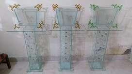 Peceras con base en vidrio
