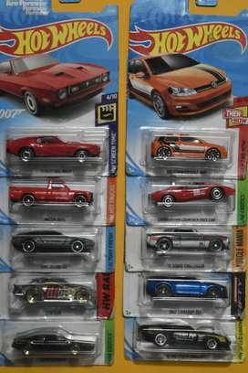 Hot Wheels Lote 10 carros Ediciones Pasadas Nuevos Coleccionables L8