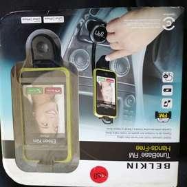 Estación FM Base Manos Libres Iphone, Ipod, nano, touch, classic.