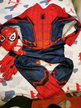 Disfraz spider man home coming
