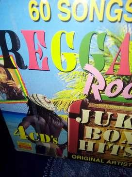 Vendo CD originales de reggae
