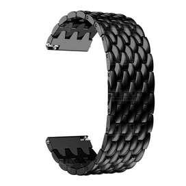 Correa Pulso Banda de Acero Inoxidable 22mm (milímetros) para reloj o Smartwatch Casio Xiaomi fossil Huawei Samsung