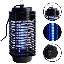 Lámpara mata zancudos moscas elimina incecto eléctrico atrás