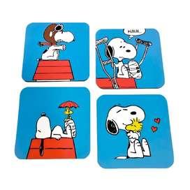 Portavasos Magnéticos Snoopy Set X4 Und. Rígidos