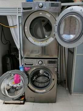 Vendo lavadora secadora