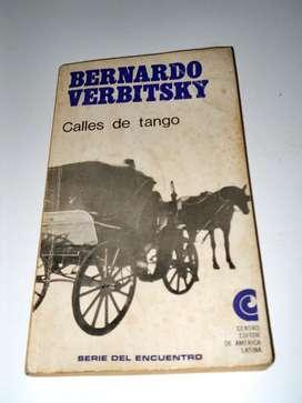 Calles De Tango Bernardo Verbitsky
