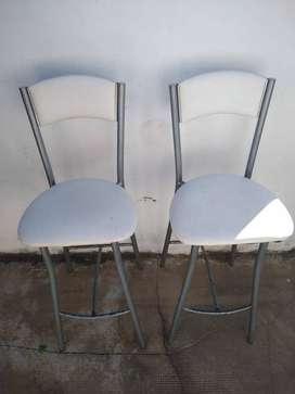 Banquetas/sillas desayunador x2