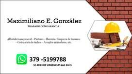 ALBAÑIL, PINTOR  Y SERVICIOS VARIOS