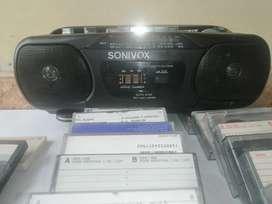Cassettes y Grabadora
