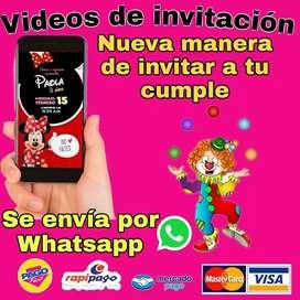 invitaciones digital para cumpleaños
