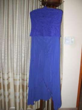 hermoso vestido de fiesta