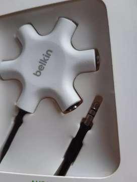 Cable BELKIN auxiliar Rockstar audio para compartir música