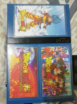PlayStation 2 - PS2 Rojo con Azul Edicion Dragon Ball Super