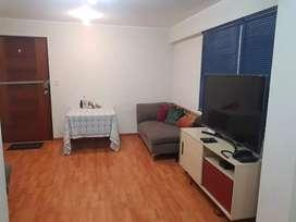 Departamento amoblado  para persona sola o pareja joven cerca de Miraflores