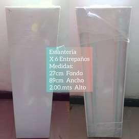 Estanteria Larga reforzada 90x27 fondo Nueva