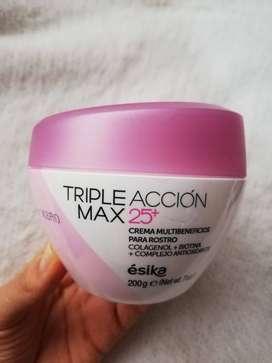 Crema Triple Acción Max 25+ Esika
