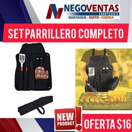 SET PARRILLERO COMPLETO