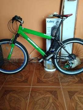 Vendo bicicleta Shimano todo terreno