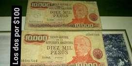 Diez mil peso antiguo