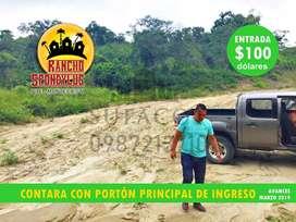 RECORRIDOS GRATIS DESDE MANTA,TERRENOS CAMPESTRES DE 1.000M2 CON 100 USD DE ENTRADA,CUOTAS FIJAS DE 138 USD,SUR MANTA S1