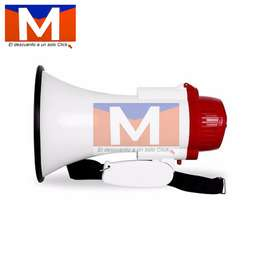 Megafono Recargable Bluetooth Portatil Distancia +/- 200 Mts