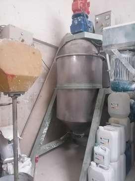 Maquina para materias pesadas