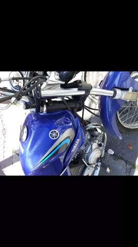 Yamaha YBR 125 chocada