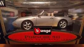 Auto Bburago 1994 Porsche 911 Carrera Cabriolet 1/18