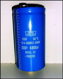 Capacitor 6800mf x 350 volts