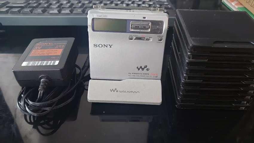 MZ-N1 MiniDisc Excelente.!