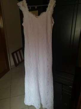 Vestido sirena de novia