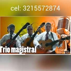 """Solo hay uno; trio en Barranquilla. """"MAGISTRAL """""""