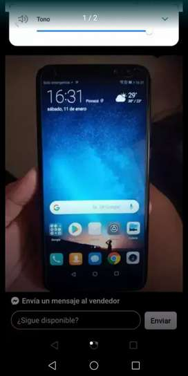 Vendo o cambio Huawei mate 10 lite como nuebo