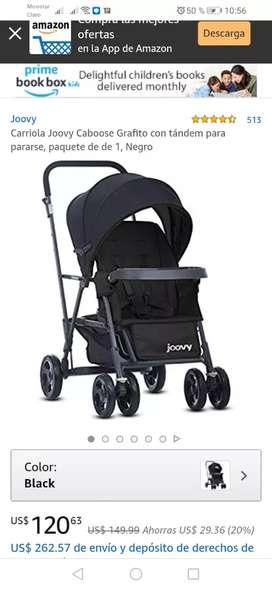 Vendo coche para bebes marca Joovy