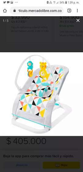 Silla mecedora bebé Fisher Price