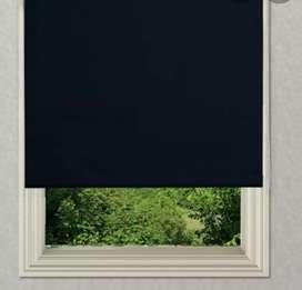 Cortina Blackout. En color negro. Ideal para hacer que el día sea como la noche