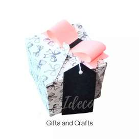 Cajas de regalo con detalle de moño