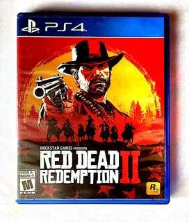 Vendo juego de ps4 RED DEAD REDEMPTION II  10/10