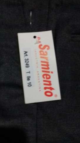 Pantalon Sarga Sarmiento Talle 10