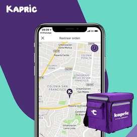 Obtén tus propia apps móvil con tu marca Kapric Aliados