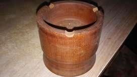 Cenicero de madera