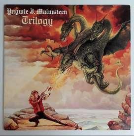 Yngwie J. Malmsteen Trilogy Lp 1986 Poyidor
