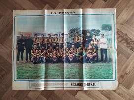 la prensa año 1971 , rosario central