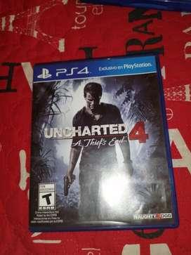Uncharted 4 para ps4 en muy buen estado