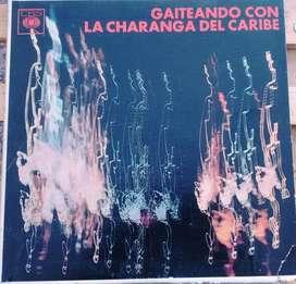 disco vinilo La Charanga del Caribe Gaiteando